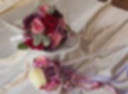 Winter Wedding Bouquet and Wedding Sceptre