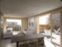 EP MMR - Roof top Terrace Flat Interior