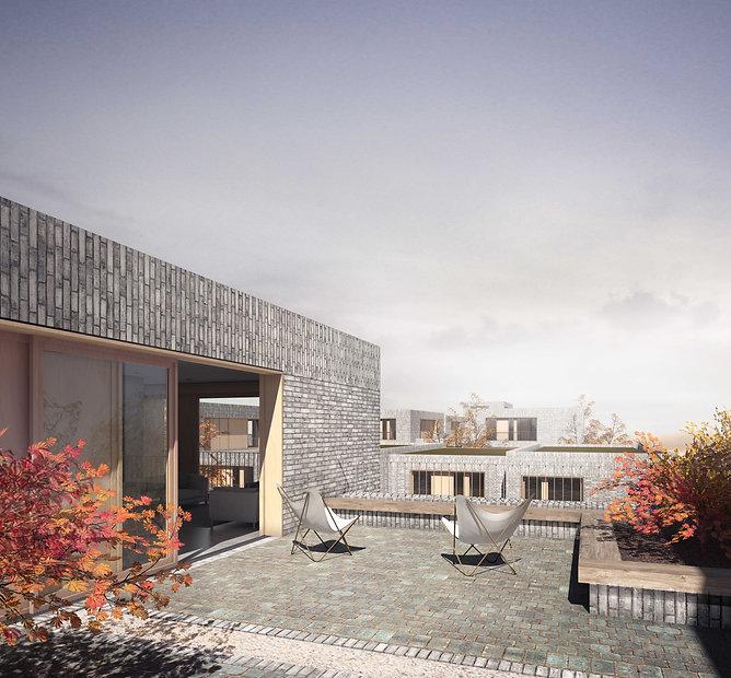 EP MMR - Roof top Terrace Flat External