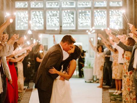 The Crystal Coop | Beautiful Late Summer Wedding | Taylor & Mookie