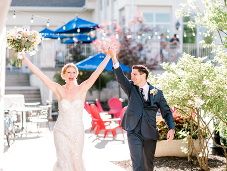 Bridgewater Club | Perfect Outdoor Wedding Reception | Megan & Josh