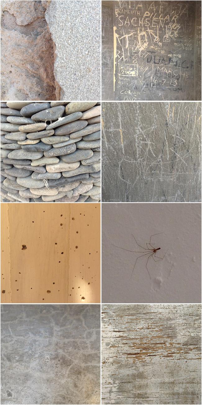 Cuaderno de Verano 1: Muros, paredes y tapias...