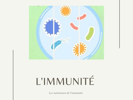 Les nutriments de l'immunité