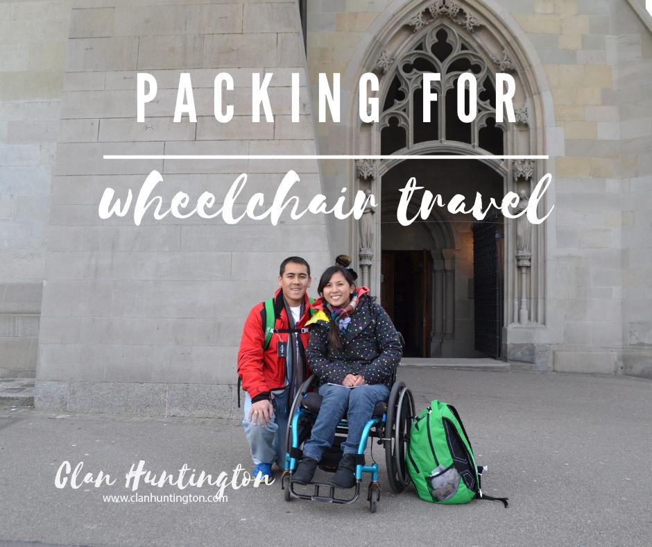 Wheelchair travel in Europe