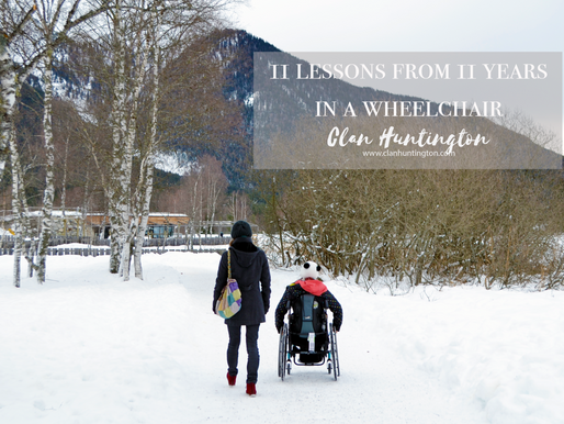 11 Lessons from 11 Years in a Wheelchair