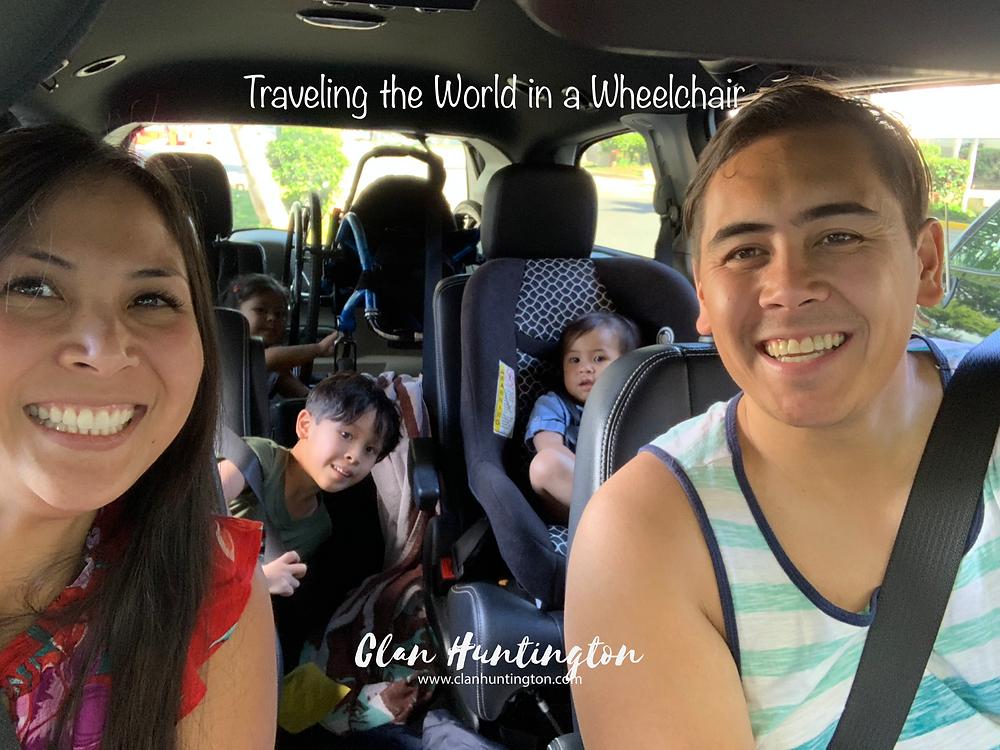 Family road trip in Hawaii