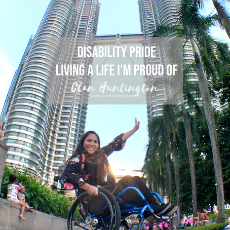 Disability Pride Month | Living a Life I'm Proud of