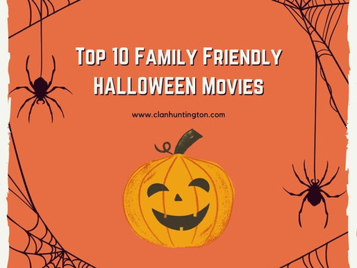 Top 10 Family Friendly Halloween Movies