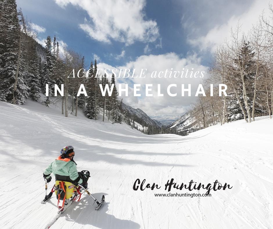 Disabled skiing in Utah