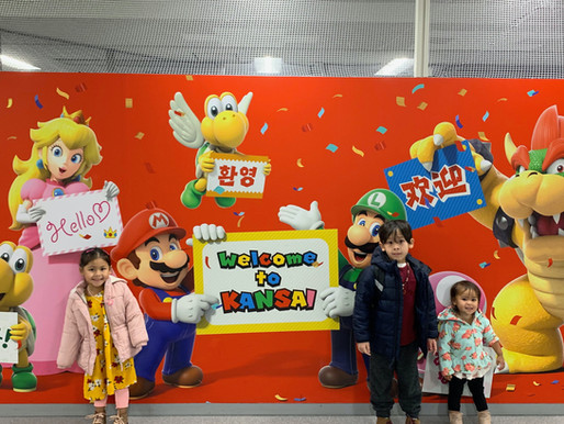 Japan Day 1: Landing in Osaka, Japan