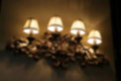 landelijke wandlampen