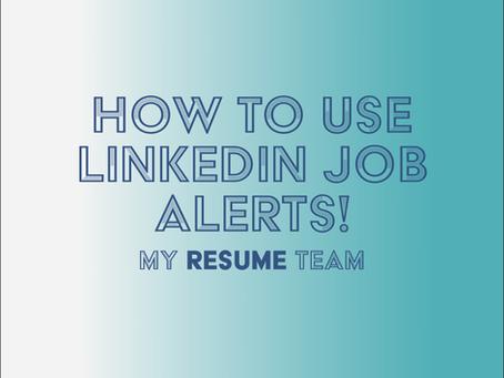 How to use LinkedIn Job Alerts