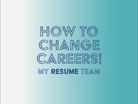 How do I change careers?