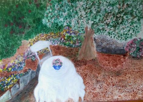 La nappe blanche. Patricia