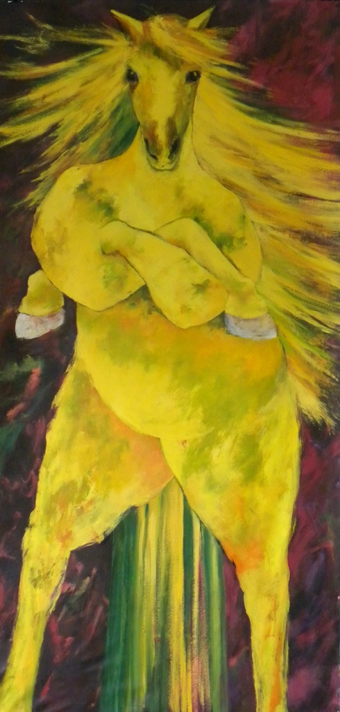 La jument jaune
