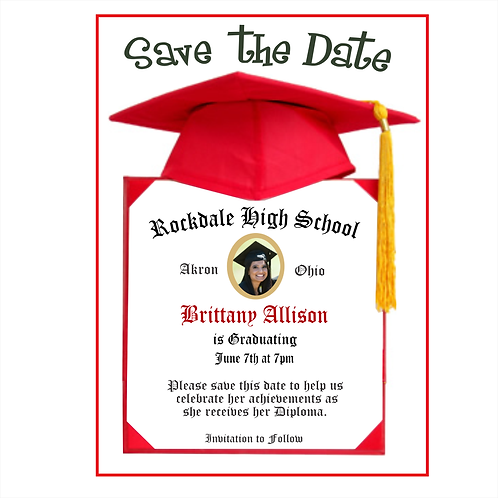 Its Official Graduation Save The Date Magnet