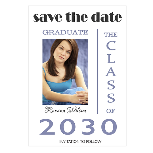 Your Special Graduate Photo Save The Date Magnet