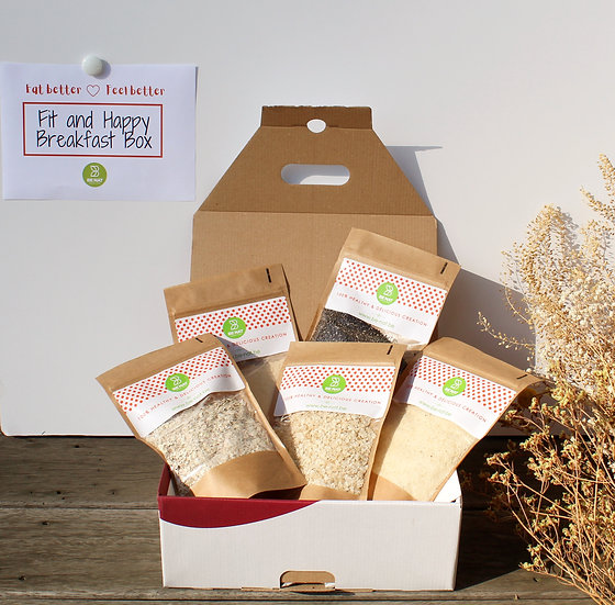 Fit & Happy breakfast box