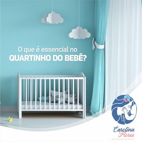O que é essencial no quartinho do bebê?