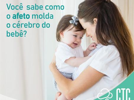 Como o afeto molda o cérebro do bebê