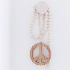 Peace Mala Woonketting