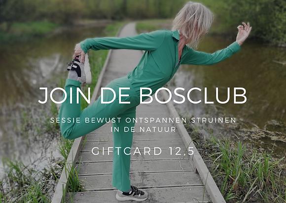 giftcard De Bosclub 12,5