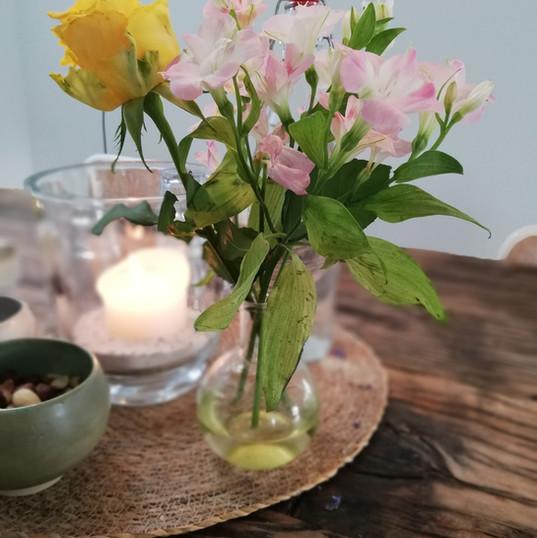 altijd verse bloemen