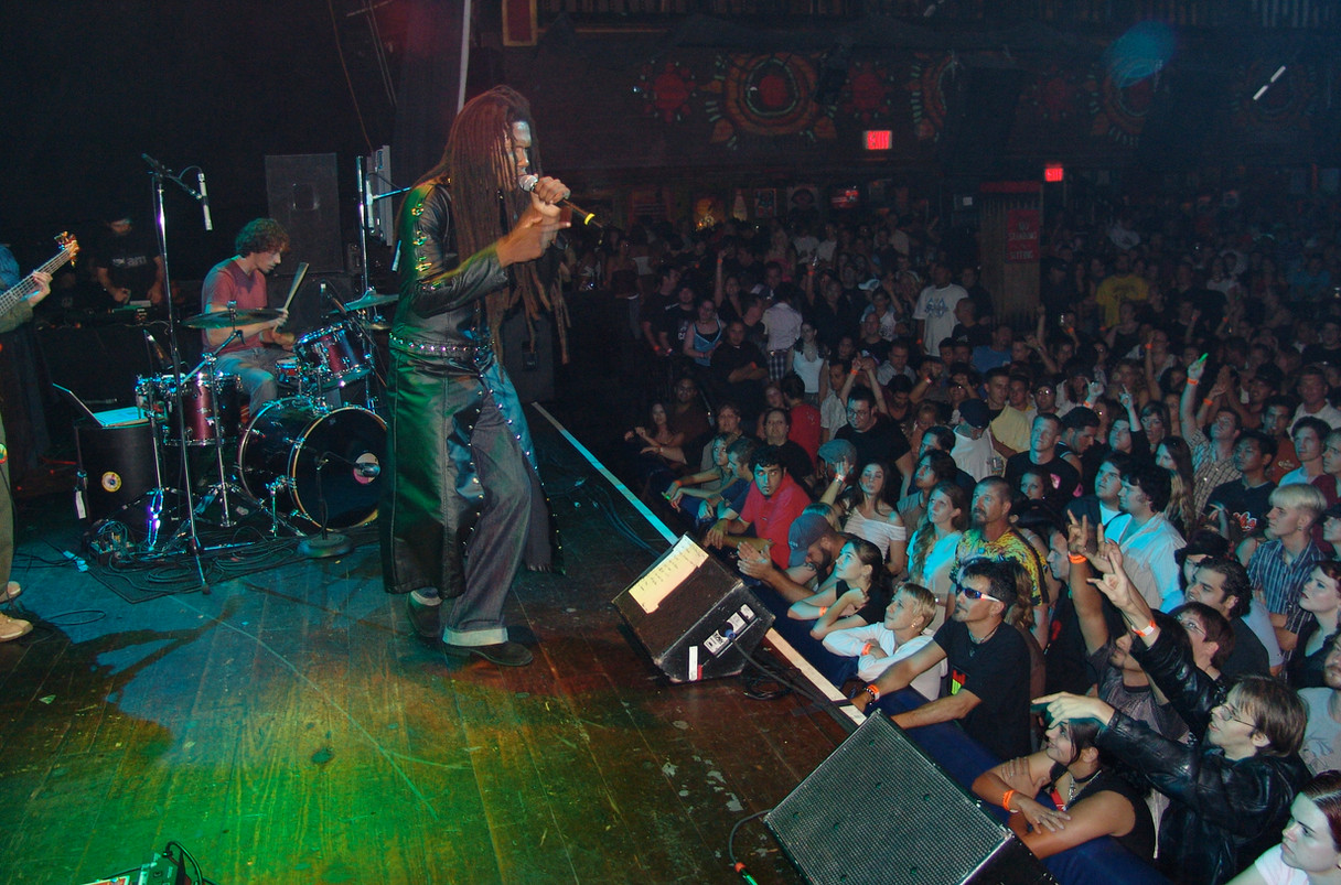 Kēvens at the House of Blues in Orlando