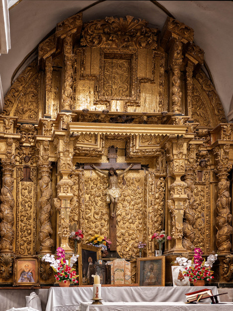 Retablo mayor...