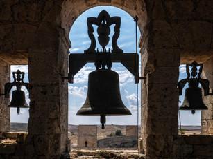 Desde el campanario del Monasterio de Uclés...