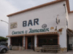 Bar de Naharros en la carretera nacional N-400 un buen lugar para tomar un tentempié o comer, todo casero...
