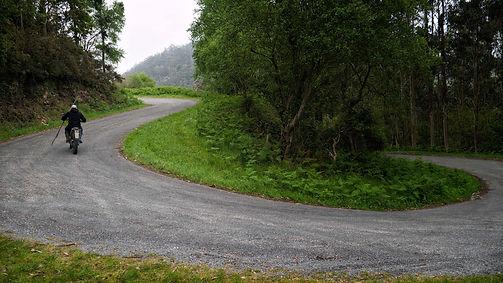 Ya de vuelta de A Fraga Vella en Mondoñedo (Lugo) Galicia
