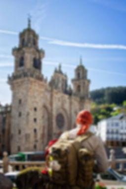 Visita obligada del Camino compostelano del Norte es la Catedral de Mondoñedo...
