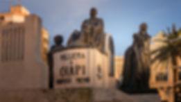 Obra del escultor Antonio Navarro Santafé en homenaje al Maestro Chapí en Villena