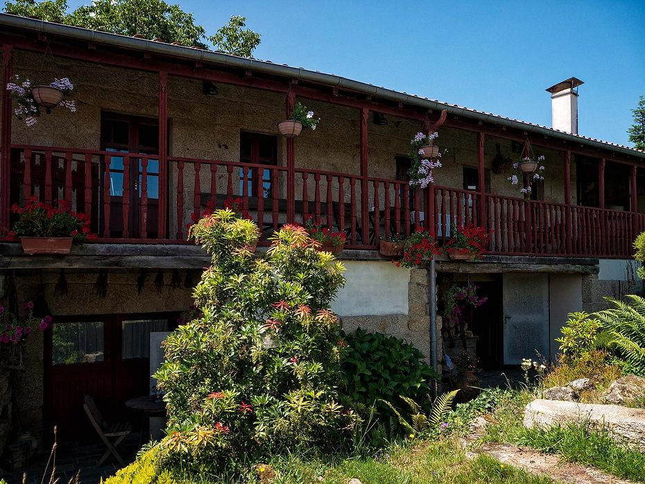 A Casa da Eira, tranquila casa rural en Alberguería (Nogueira de Ramuín, Orense, Galicia, España) un lugar para pasar uos dñias y conocer esta increible Ribeira Sacra. Photoperiplo estuvo allí.