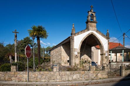 Capilla de San Roque en Leirado (Salvaterra de Miño)