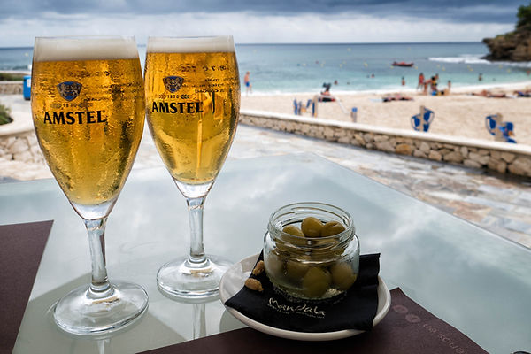 Un buen lugar para comer, Mandala Beach Bar & Restaurant en Cala Fustera, Benissa, Marina Alta (Alicante) España. Photoperiplo comió allí, especial.