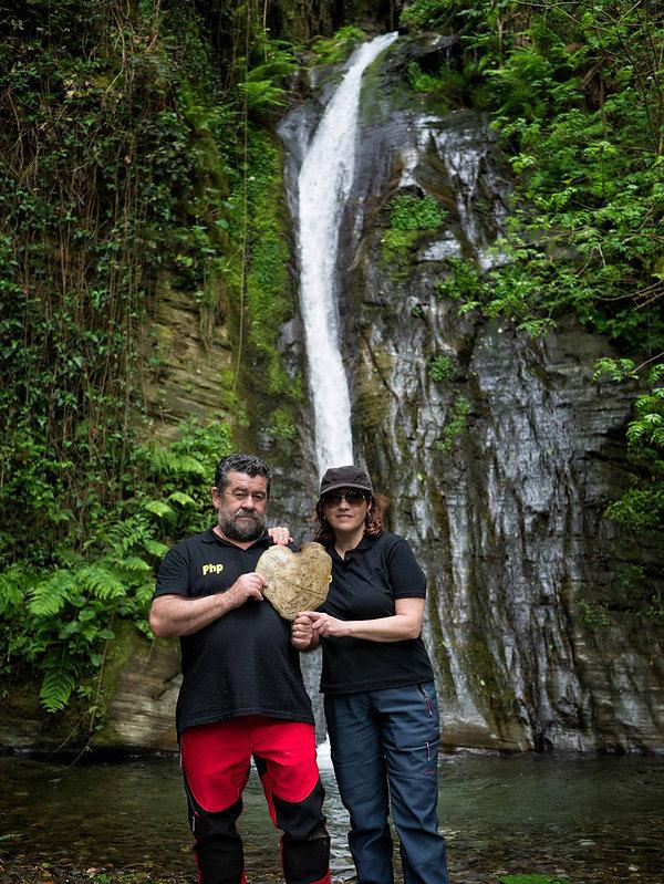 Photoperiplo estuvo en este encanto natural del Salto do Coro del río Valiñadares en Mondoñedo (Lugo) Galicia Spain.