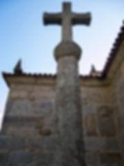 Cruceiro de la Iglesia parroquial de Santa Marina en Oleiros, Salvaterra de Miño, Galicia. Photoperiplo estuvo allí fotografiando.
