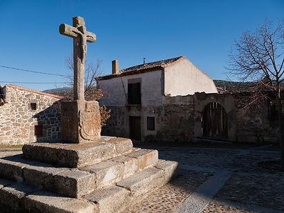 Crucero en Bonilla de La Sierra (Ávila) Villa Episcopal
