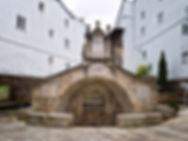 Font Vella, (Fuente Vieja) en Mondoñedo (Lugo) Galicia Spain termianada de construir en 1548 por orden del Obispo Diego de Soto