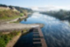 Panorámica desde el Puente Internacional de la eurocidade Salvaterra de Miño Monçao. Entre España y Portugal, Photoperiplo estuvo fotografiado por allí, nos acompañas?
