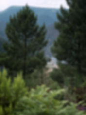 Mirador do Pena do Pobre en Nogueira de Ramuín - Luintra (Ourense, Galicia, Spain) en plena Ribeira Sacra, Photoperiplo estuvo allí porque nos encanta viajar para fotografiar.