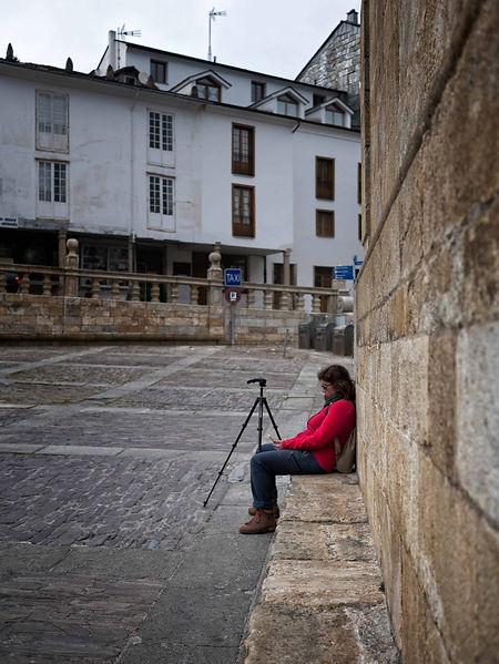 Tras la visita a la Catedral de Mondoñedo (Lugo) Galicia Spain que nos puede llevar al menos una hora,  apetece descansar un ratito.