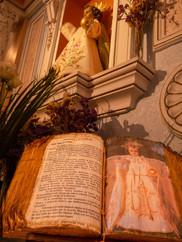 Santo Niño de la Bola bajo la advocación de Dulce Nombre de Jesús, patrón de Olmedilla de Alarcón