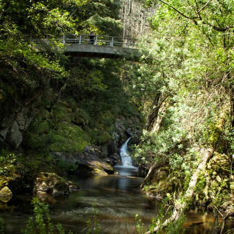 Desde abajo también hay fotos interesantes pero hay que andar con cuidado si nos estás puesto a estos ríos...