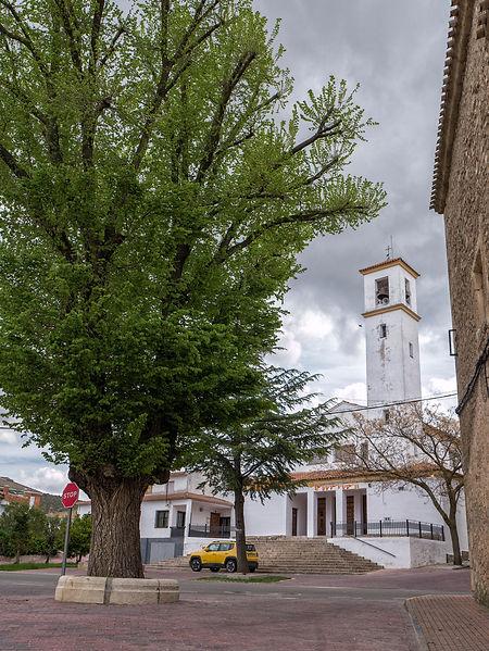 Iglesia de Nuestra Señora de la Asunción de Valera de Abajo en Cuenca (Serranía media, Castilla la Mancha) Photoperiplo estuvo allí...