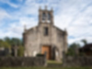 Iglesia parroquial de Santa Columba de Soutolobre en Salvaterra de Miño (Pontevedra) Galicia. Photoperiplo, viajar y fotografiar estuvo allí, nos acompañas.