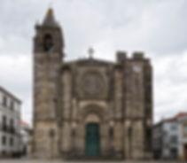 Iglesia-Fortaleza de San Martiño (San Martín) en Noia (A Coruña)