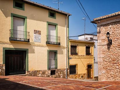 Plaza en honor a Alonso de Ojeda, hijo ilustre de Torrejoncillo del Rey (Cuenca)